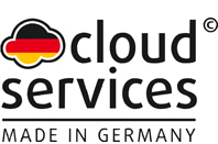 Logo Cloud Services Made in Germany